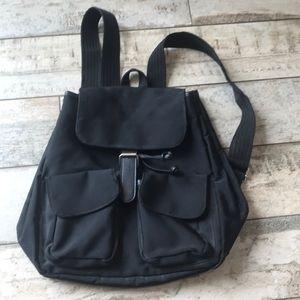 GAP black small book bag